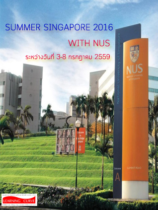 Summer NUS by Learning Curve